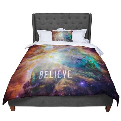 Bruce Stanfield Orion Nebula Believe Comforter Size: King