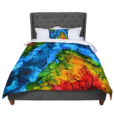 Claire Day Flow Comforter Size: King