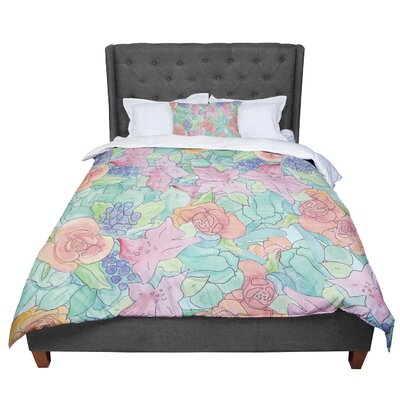 Catherine Holcombe Southwestern Floral Comforter Size: King