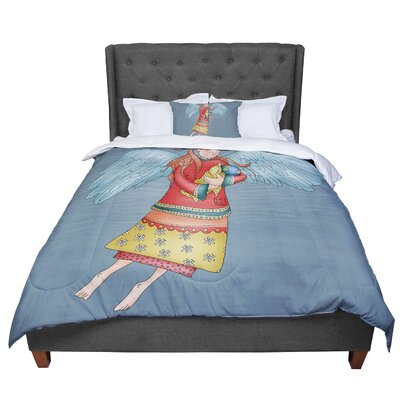 Carina Povarchik Guardian Angel Comforter Size: King