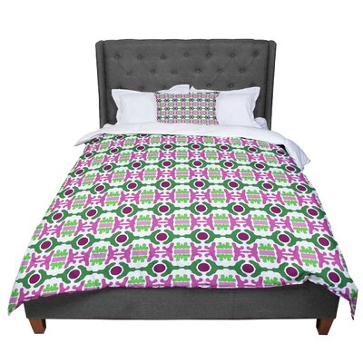 Empire Ruhl Island Dreaming Abstract Comforter Size: Twin