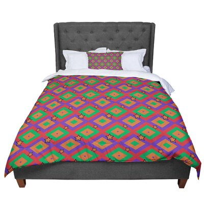 Empire Ruhl Super Stars Geometric Comforter Size: Twin