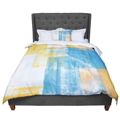 CarolLynn Tice Color Combo Comforter Size: King