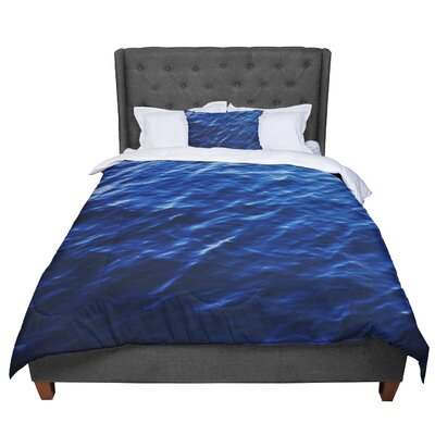 Chelsea Victoria Sea Calm Nature Comforter Size: Queen