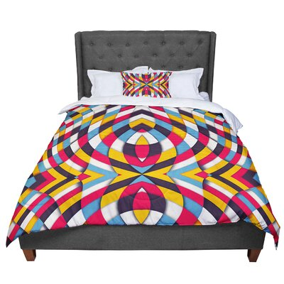 Danny Ivan Stained Glass Comforter Size: Twin