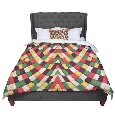 Danny Ivan Rastafarian Tile Comforter Size: Queen