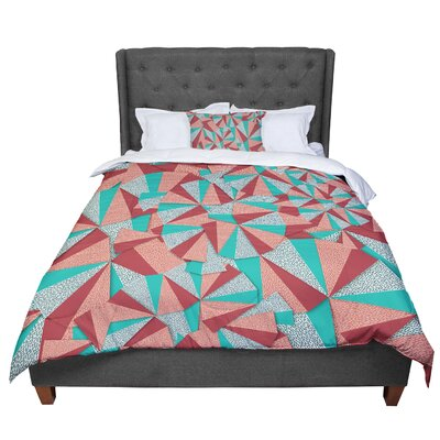 Danny Ivan Marsala Comforter Size: Twin