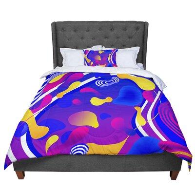 Danny Ivan Bubbles Comforter Size: Twin