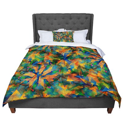 Danny Ivan No Way Out Abstract Comforter Size: Queen