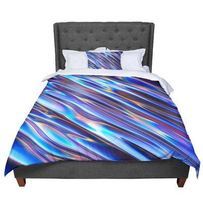 Danny Ivan Iridescent Illustration Comforter Size: Queen