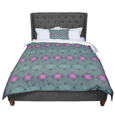 Deepti Munshaw Pattern #3 Comforter Size: King, Color: Gray