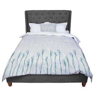 Emma Frances Dainty Shoots Comforter Size: Queen