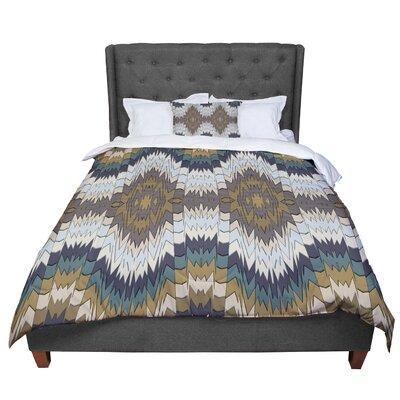 Akwaflorell Papercuts Geometric Comforter Size: King
