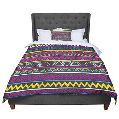 Fimbis Keef Magenta Comforter Size: Queen