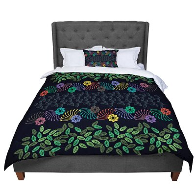 Famenxt Jungle Pattern Comforter Size: King