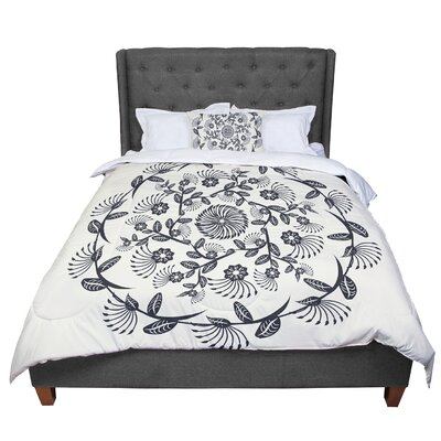Famenxt Decorative Mandala Geometric Comforter Size: King