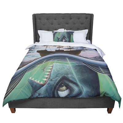 Graham Curran Jonah Comforter Size: King