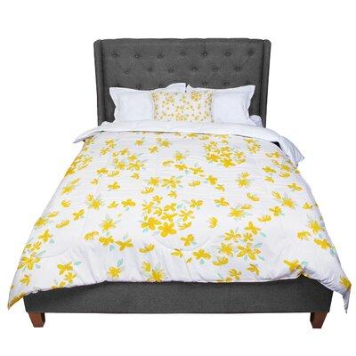 Gukuuki Kashmir Garden Comforter Size: Twin
