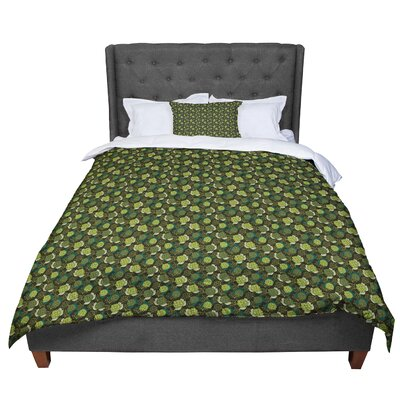 Holly Helgeson Camillia Forest Comforter Size: King