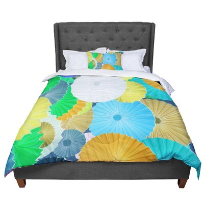 Heidi Jennings Curiousity Cool Comforter Size: Queen