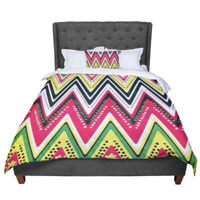Heidi Jennings Jamaican Me Crazy Comforter Size: Queen