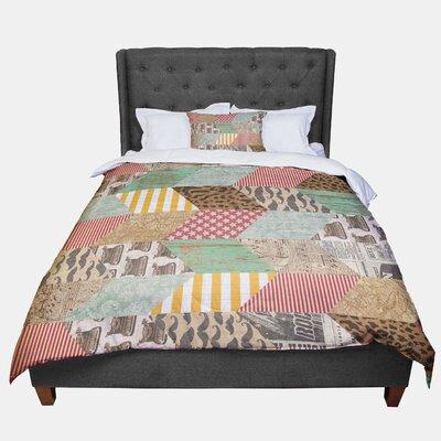 Heidi Jennings Hodge Podge Vintage Texture Comforter Size: Queen