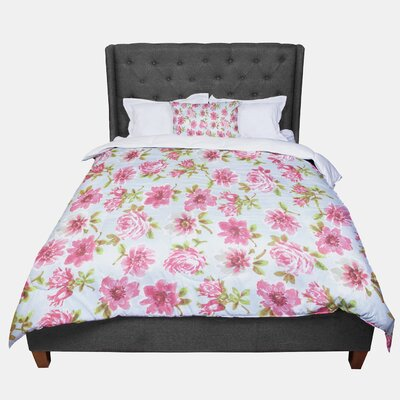 Heidi Jennings Petals Forever Comforter Size: Twin