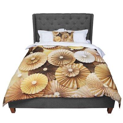 Heidi Jennings Caramel Latte Comforter Size: Queen