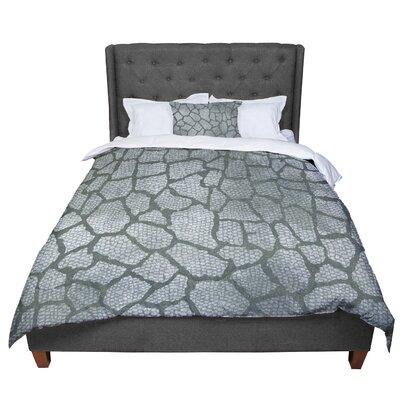Heidi Jennings Snake Skin Comforter Size: Queen