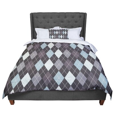 Heidi Jennings Argyle Comforter Size: Queen