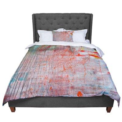 Iris Lehnhardt Mots De La Terre Splatter Paint Comforter Size: Twin