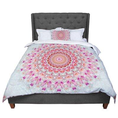 Iris Lehnhardt Summer Lace III Circle Comforter Size: Twin