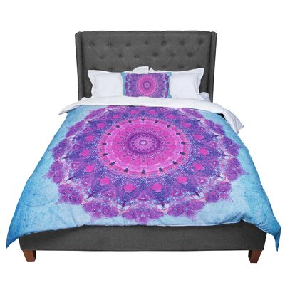 Iris Lehnhardt Grunge Mandala Comforter Size: Queen