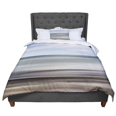Iris Lehnhardt Abstract Beach Comforter Size: Queen