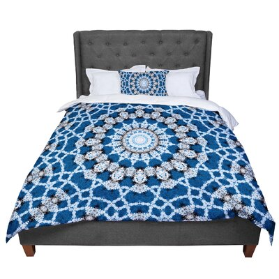 Iris Lehnhardt Mandala II Abstract Comforter Size: Twin
