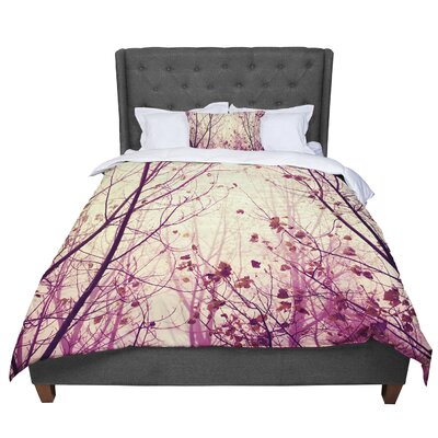 Ingrid Beddoes My Secret Garden Comforter Size: Queen