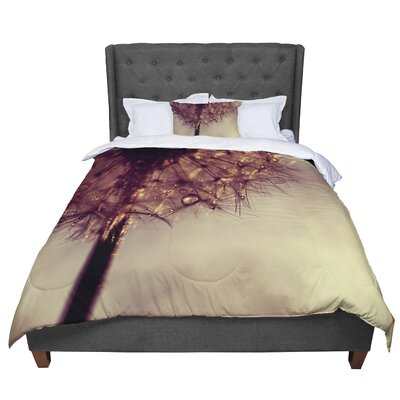 Ingrid Beddoes Droplets Comforter Size: King