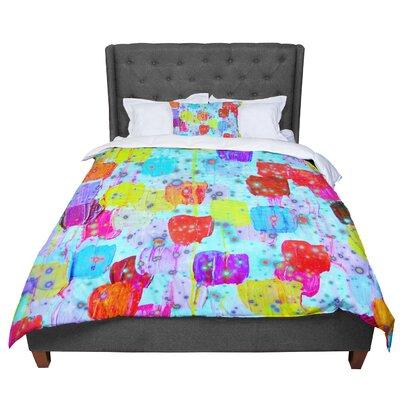 Ebi Emporium Speckle Me Dotty Comforter Size: King