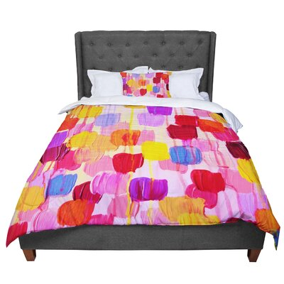 Ebi Emporium Dotty Comforter Size: Twin