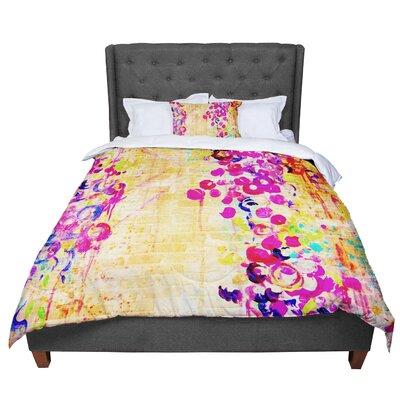 Ebi Emporium Wall Flowers Comforter Size: Queen