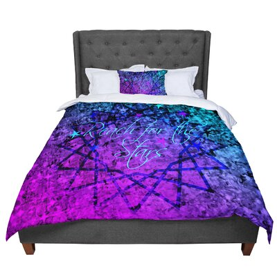 Ebi Emporium Reach For The Stars Comforter Size: King