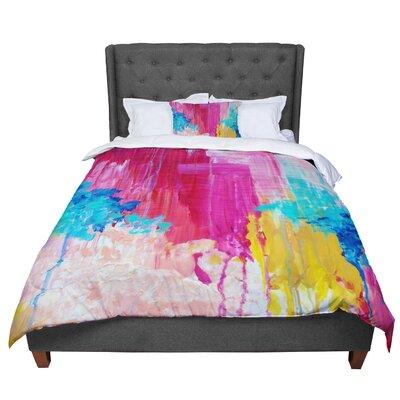 Ebi Emporium Elated Paint Comforter Size: King