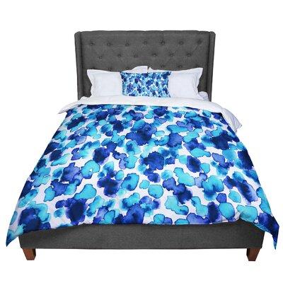 Ebi Emporium Giraffe Spots Comforter Size: Twin, Color: Blue