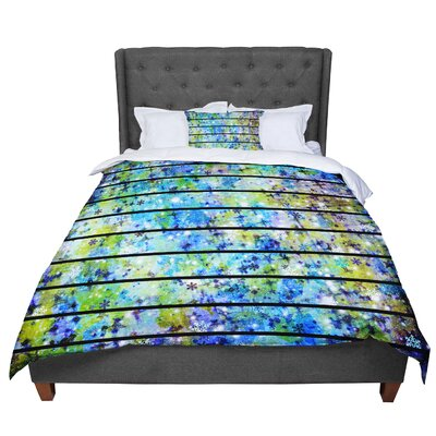 Ebi Emporium Snowflakes Comforter Size: King