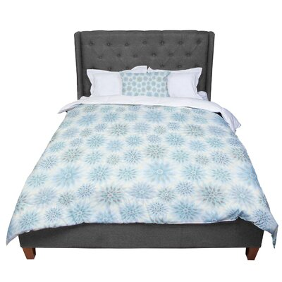 Julia Grifol My Delicate Flowers Comforter Size: Twin