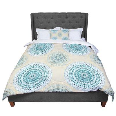 Julia Grifol Soft Mandalas Comforter Size: Queen