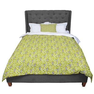 Julie Hamilton Blossom Bird Comforter Size: King