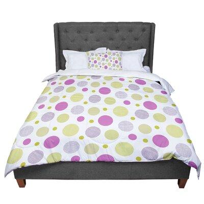 Julie Hamilton Rhapsody Dot Comforter Size: Twin