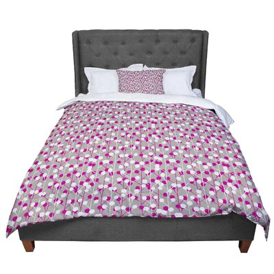 Julie Hamilton Wineberry Comforter Size: Queen