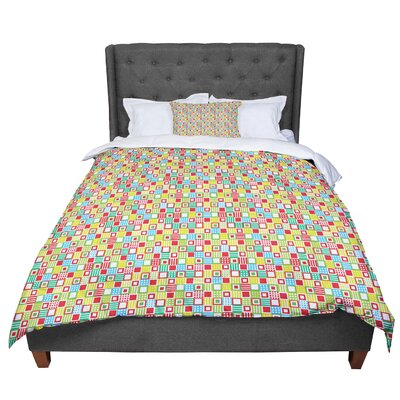 Julie Hamilton Checkered Comforter Size: Queen